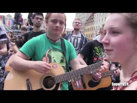 Gitarowy Rekord Guinnessa pobity   7344   Wrocaw 2014 1 3