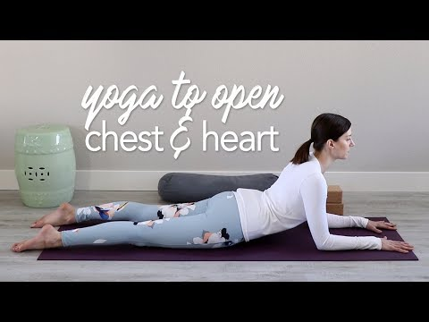 3 Gentle Heart Opening Yoga Poses