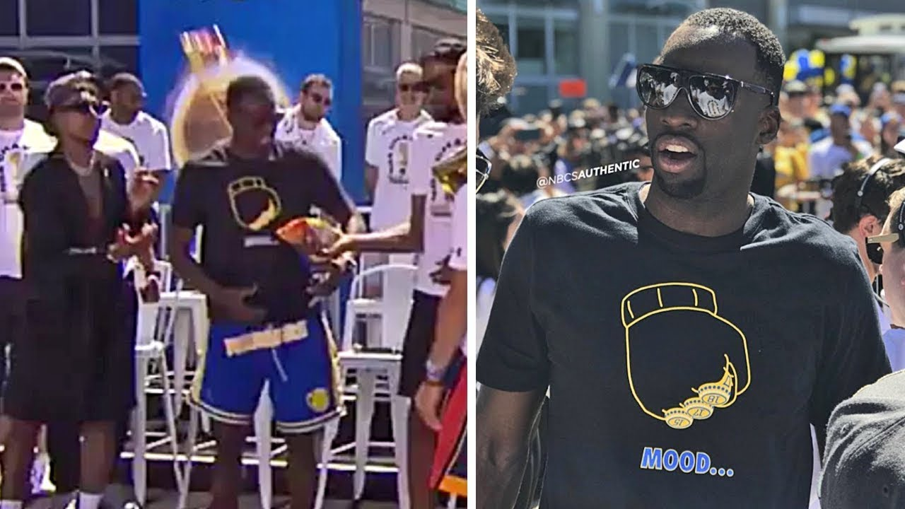 draymond-green-gets-hit-in-the-head-with-a-bag-of-cheetos-during-warriors-parade-celebration