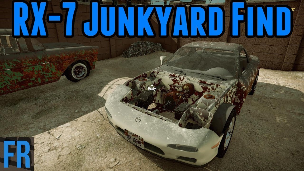 Car Mechanic Simulator 2018 - Mazda Rx-7 Junkyard Find - YouTube