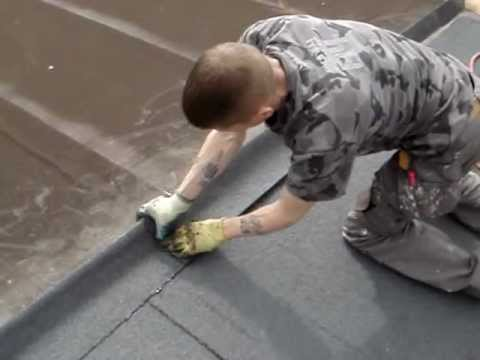 Torch On Felt Roofing Youtube