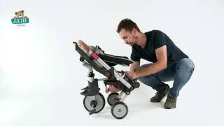 Tricicletă și cărucior pliabil Evolutive Robin Tri
