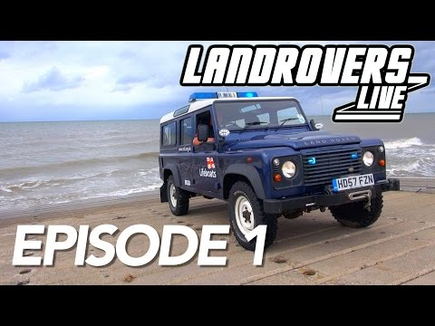 Episode 1 - Land Rover Prop Shaft Guide, Reviews + RNLI Defender
