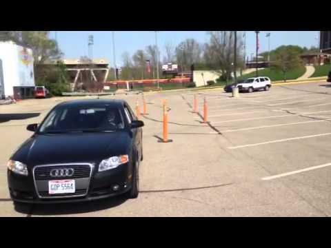 Maneuverability test Ohio - YouTube