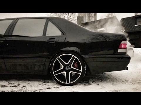 Тест-драйв на самый крутой в мире BRABUS 7.3S W140!) Mercedes-Benz S-Class / кабан / рубль сорок