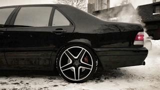 Тест драйв на самый крутой в мире BRABUS 7 3S W140!) Mercedes Benz S Class / кабан / рубль сорок