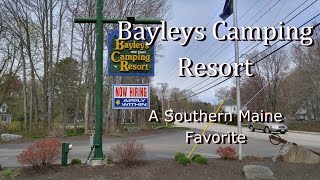 Vlog #14 - Bayleys Camping Resort, Scarboro, Maine - April 2017