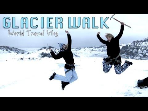 EPIC Glacier hike - ICELAND   World Travel Vlog