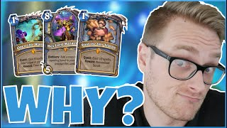 Hearthstone | But WHY Though? (Because I Can) | Wild Double Quest Mage | Saviors of Uldum