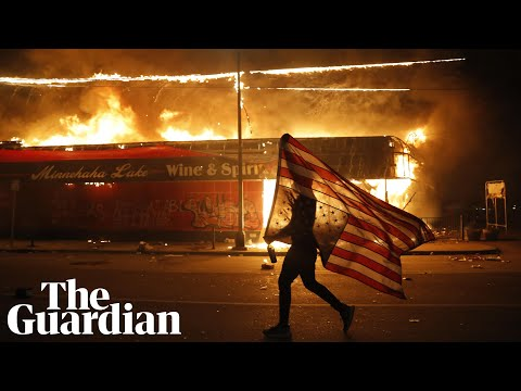 George Floyd: riots erupt in Minneapolis as protests sweep across US