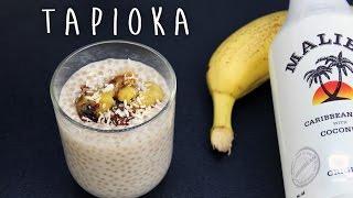 Kokosowy pudding z tapioki ze smażonym bananem - Papu Agi #2