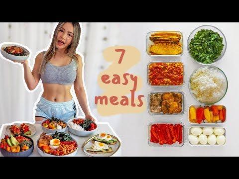 7 Healthy Meals Under 30 Mins 🥗Budget Meal Prep Challenge!