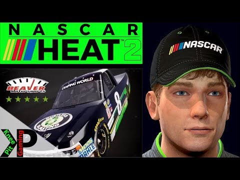 NASCAR Heat 2 Career Mode Gameplay #29 - Playoffs Begin at New Hampshire
