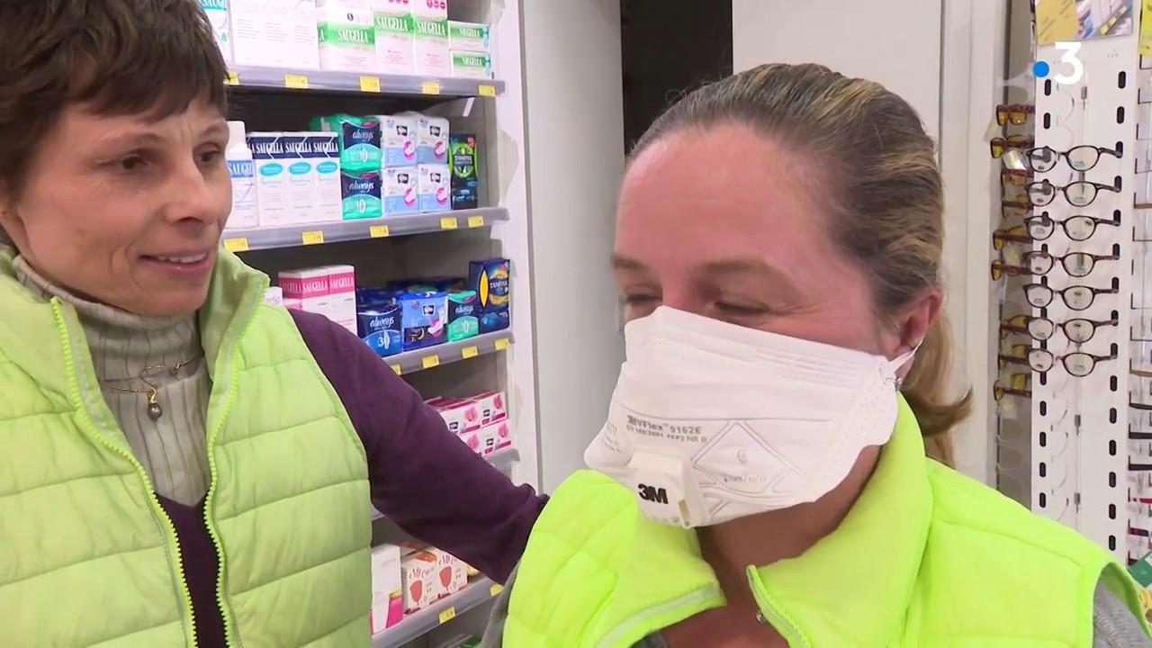 masque de protection du coronavirus