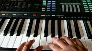 How to play Axel F on the keyboard Part 1