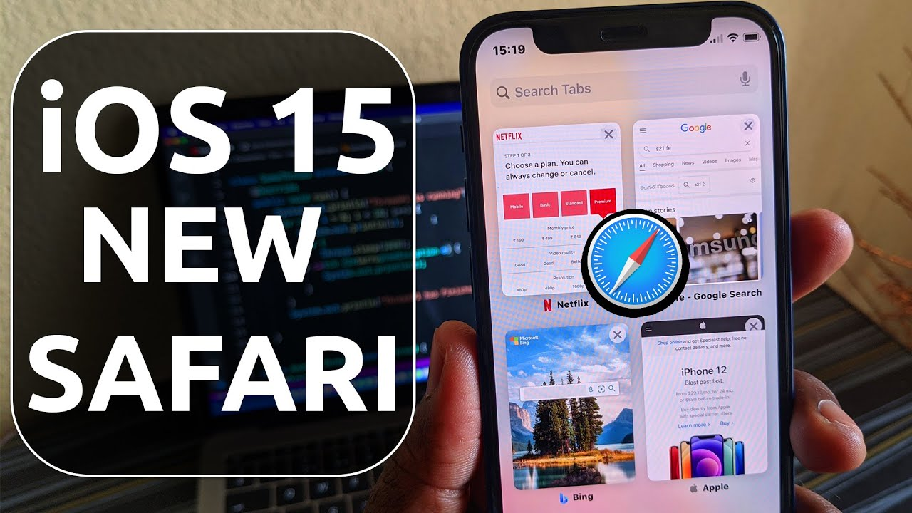 Safari on iOS 15, how to bring the
