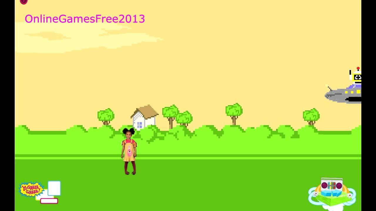 Nick Jr Games Yo Gabba Gabba Games Free Online Games For