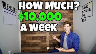 How Much Money Do I Trade With To Make $10,000 A Week?