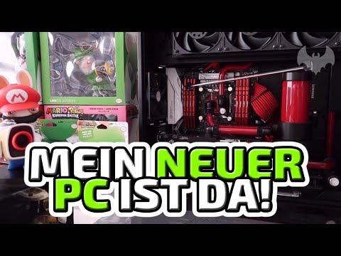 Mein neuer PC ist da! - ♠ Vlog ♠ - Deutsch German - Dhalucard
