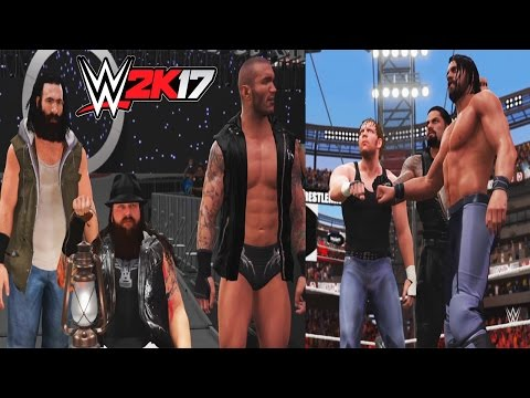 WWE 2K17-The Shield Reunite and Face The...