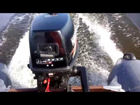 ПВХ лодка Марлин 340 лодочный мотор ханкай 5