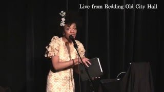 I Shall Be Released! Clip from one woman tribute to Nina Simone at Redding Old City Hall