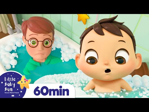 Baby Max Bath Song +More Nursery Rhymes for Kids   Little Baby Bum