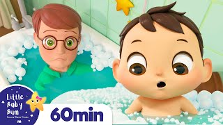 Baby Max Bath Song | More Nursery Rhymes & Kids Songs ABCs and 123s | Little Baby Bum