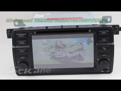 Great BMW E46 318i 320i 323i 328i multimedia head unit touch screen 1998 2006