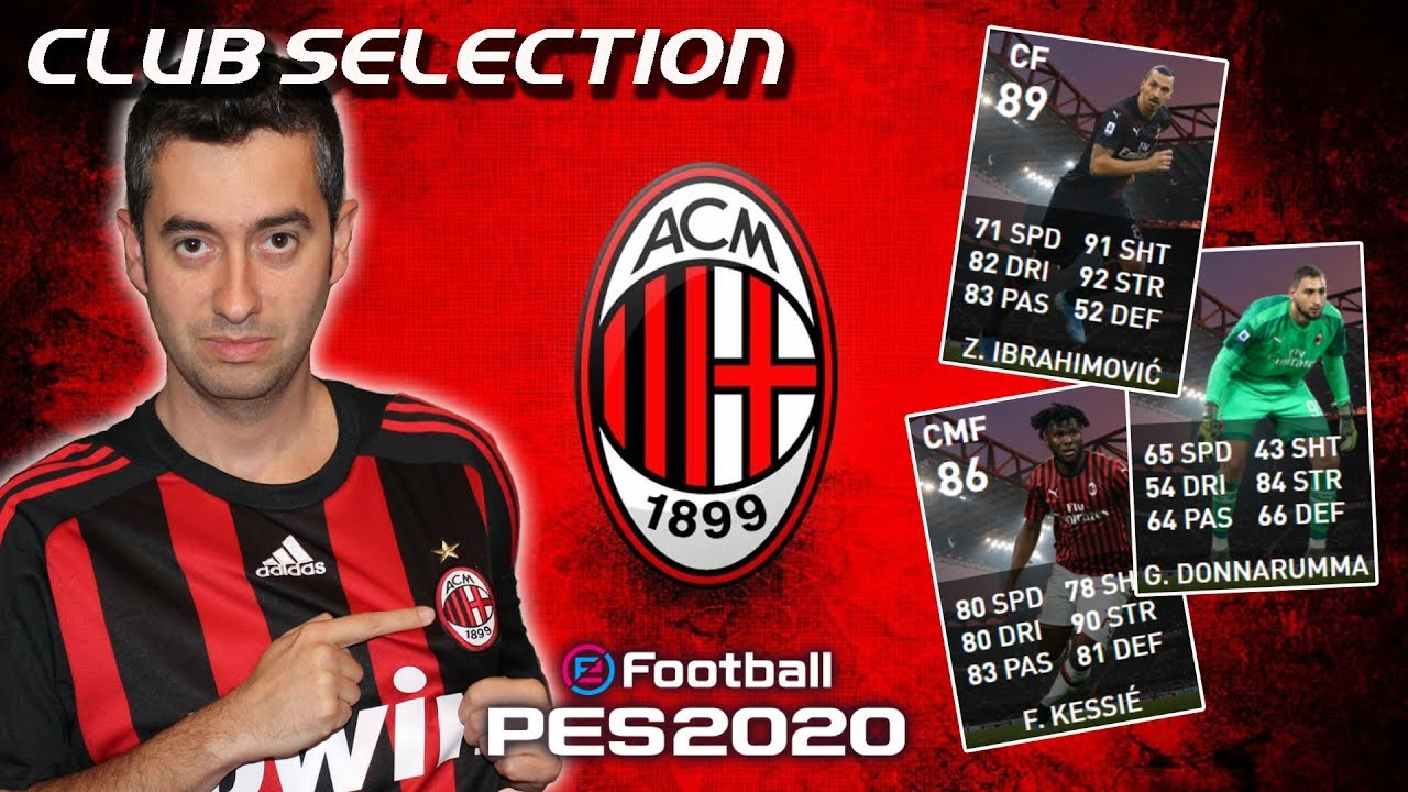 BALL OPENING MILAN CLUB SELECTION - PES 2020 myClub IBRAHIMOVIC FEATURED