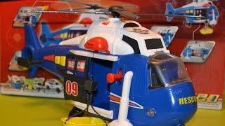 Вертолет-спасатель Дики тойз (Helicopter Dickie Toys) с подъемной люлькой