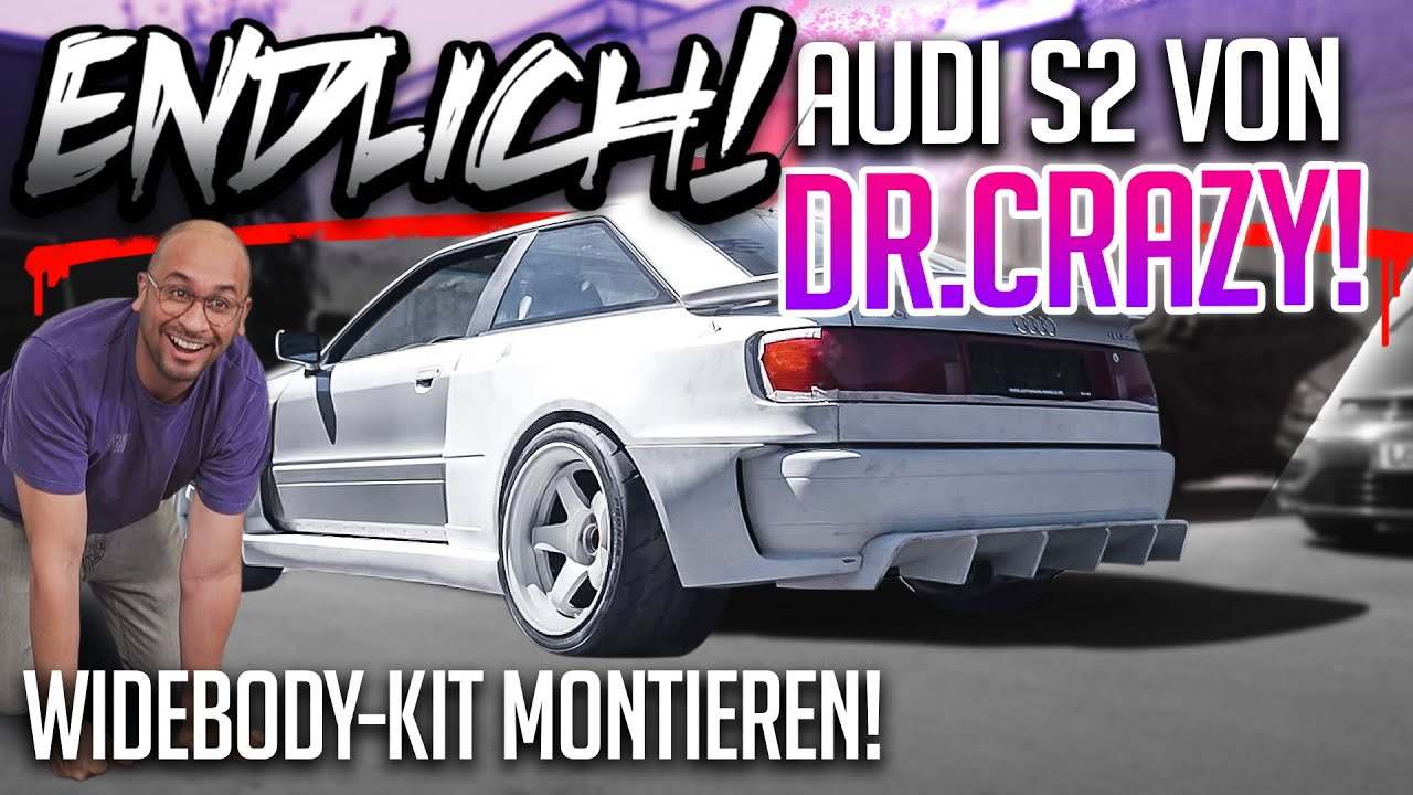 JP Performance - Endlich! Widebody von Dr. Crazy! | Rouvens Audi S2