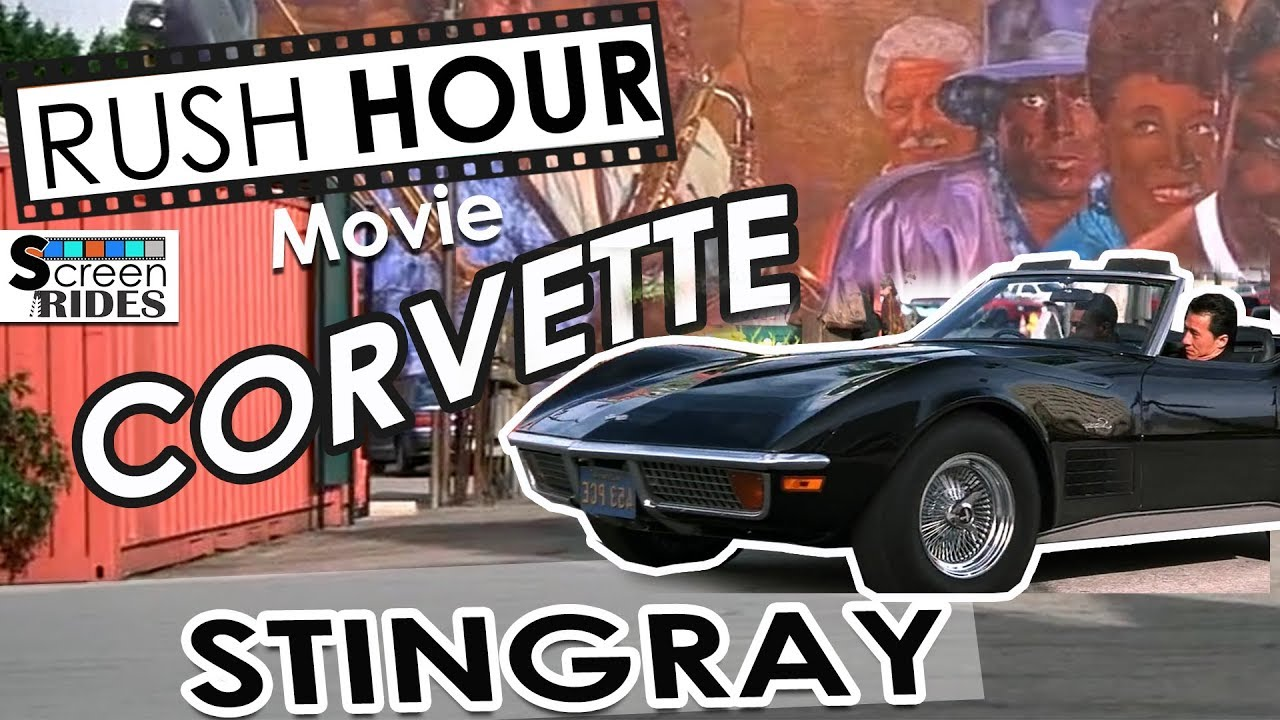 Download Rush Hour Movie Corvette Stingray - Jackie Chan and Chris Tucker
