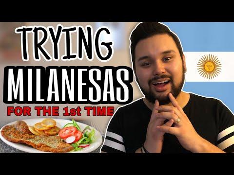 PREPARING ARGENTINIAN MILANESAS 🇦🇷