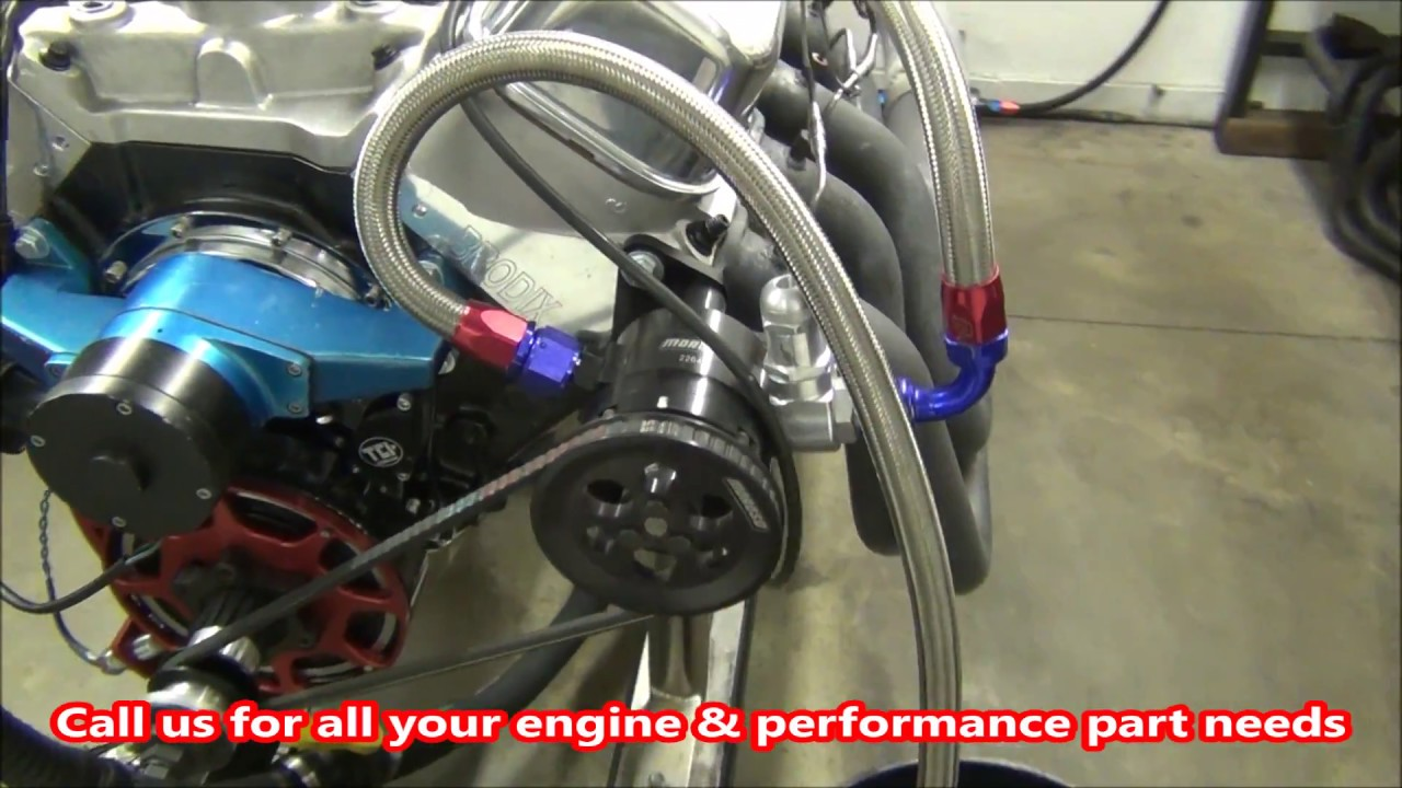 880+ Horsepower BB Chevy 540 Truck Pulling Engine by CNC-Motorsports