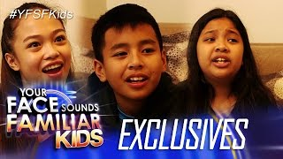 Your Face Sounds Familiar Kids Exclusive:Celebrity Kid Performers talk about EDSA People Power