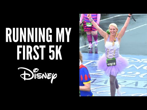 My FIRST 5K at Run Disney with NO training!