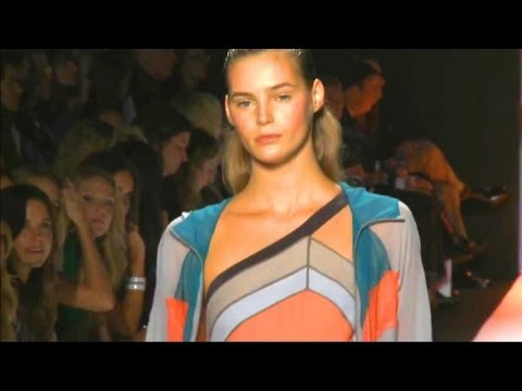 BCBG Max Azria Runway Show - New York Fashion Week Spring 2012 NYFW | FashionTV - FTV