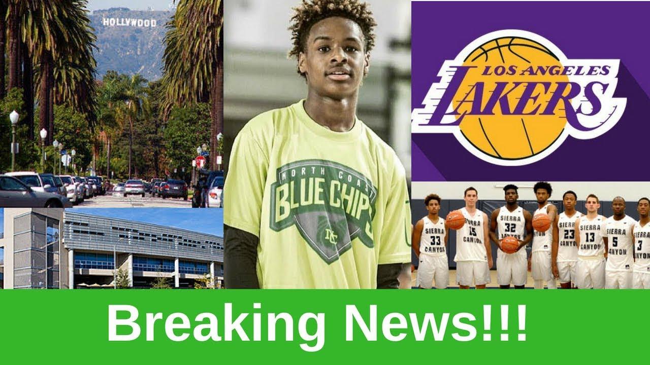 Report: LeBron James', Dwyane Wade's Sons Enrolling at Sierra Canyon High School