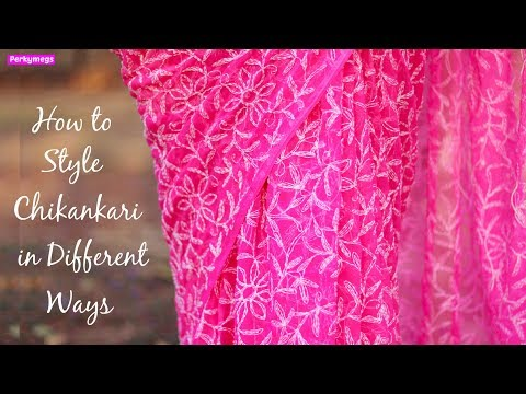 How to style Chikankari fabric in different ways   Modern Chikankari Outfits   Perkymegs