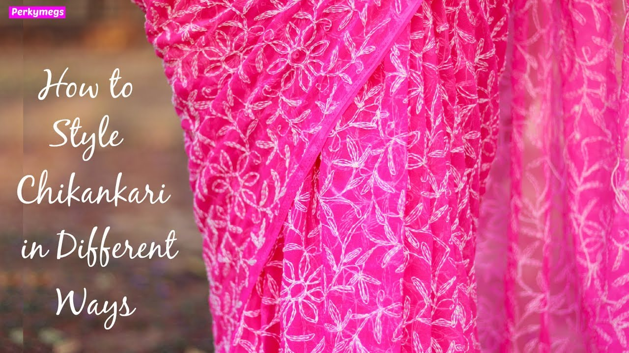 How to style Chikankari fabric in different ways | Modern Chikankari Outfits | Perkymegs