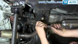 Задняя подушка двигателя / How To Replace Install Rear Lower Engine Mount 2001 06 Hyundai Elantra
