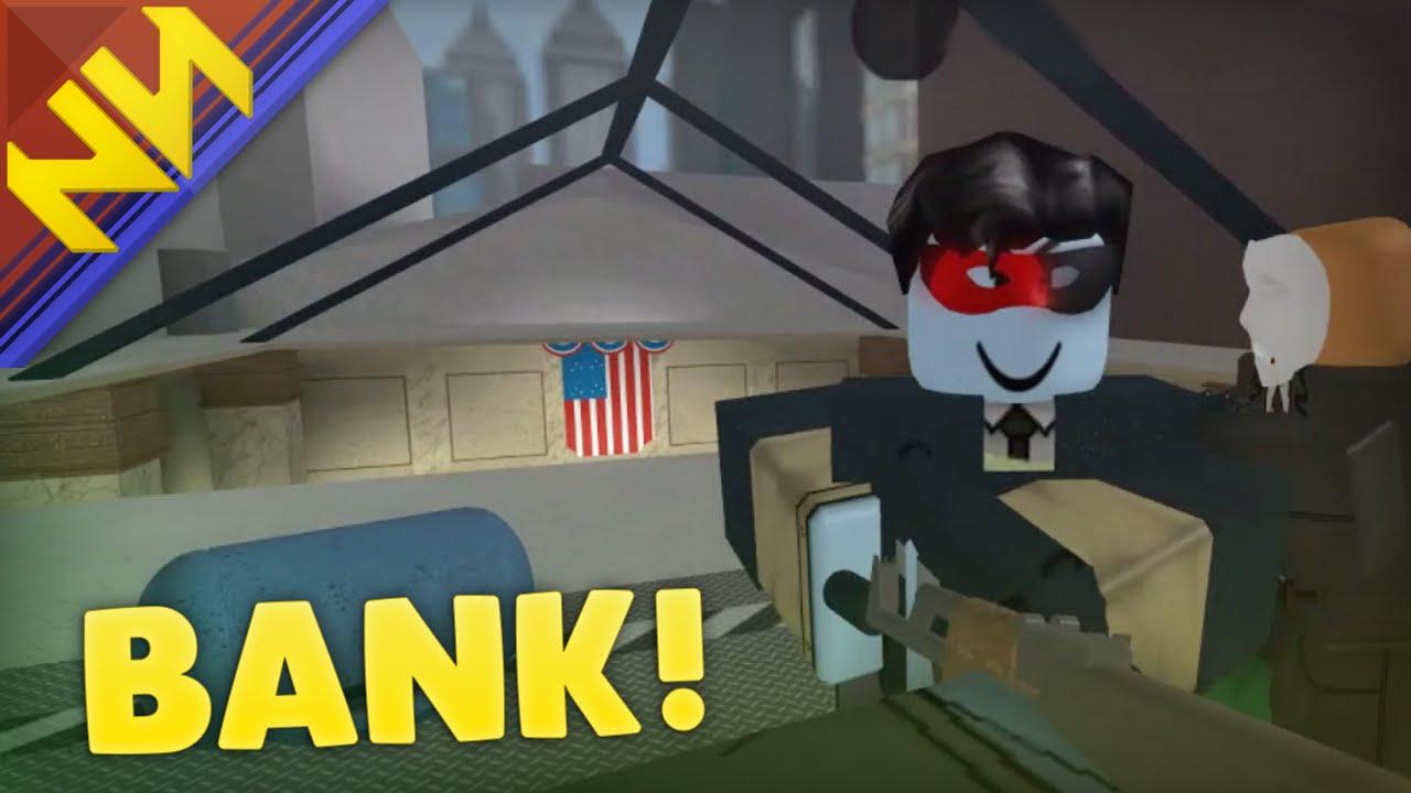 Roblox Why Is Notoriety Glitching Big Bank Heist Notoriety Youtube