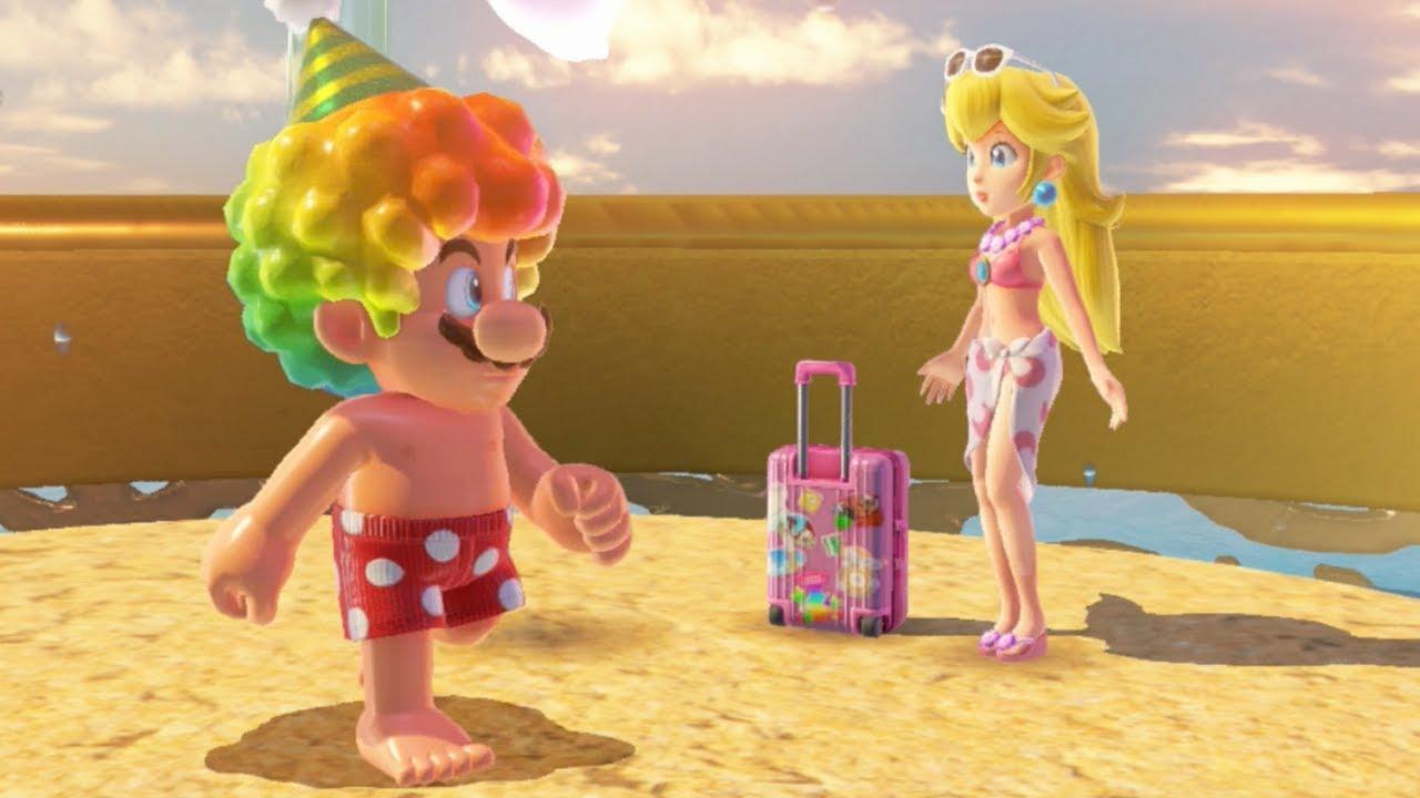 Super Mario Odyssey All Princess Peach Locations