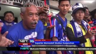 Suporter Memenuhi Stadion Kanjuruhan - NET 16