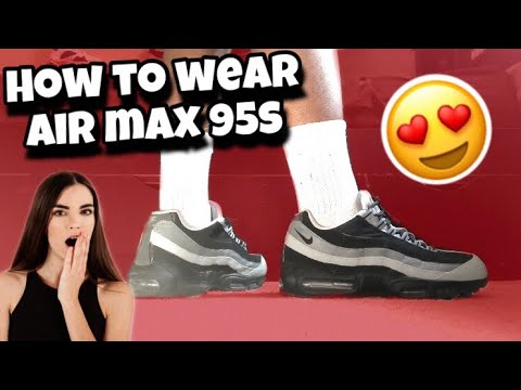 How To Lace Air Max 95s (3 Ways w ON FEET) | BEST WAYS!