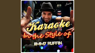 Farewell Is a Lonely Sound (In the Style of Jimmy Ruffin) (Karaoke Version)