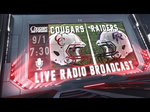 Cougars Network Presents Live Radio - Canyon Cougars vs Cedar Park Raiders
