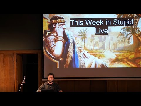 This Week in Stupid (17/12/2017) - Live at Conway Hall