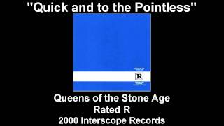 Watch Queens Of The Stone Age Quick And To The Pointless video